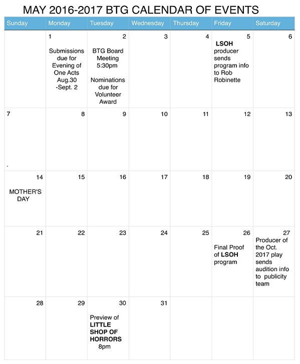 MAY 2016-2017 BTG CALENDAR OF EVENTS-1